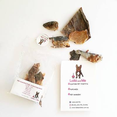 Laila and Me Healthy Dog Treats Dehydrated Dog Treats Handmade Dog Treats